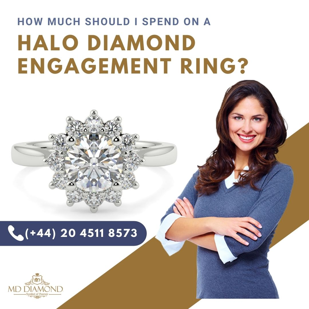 How much Should I Spend on A Halo Diamond Engagement Ring?